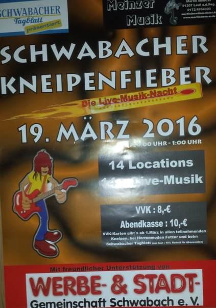 SchwabachSzeneBaumanns Roter Teppich&Kneipenfieber16