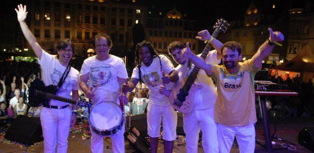 Franken-Szene:Osmars Samba-Party& Cadillac Three& Club zum Anfassen