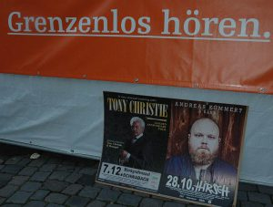 Kontrastprogramm - Grenzenlos Hören - Tony Christie vs Andreas Kümmert. Foto: Hertlein