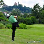 FrankenSportplatz!Club daheim 1:1&Golf-DM in Abenberg