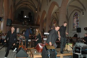 Impressionen rund um das 5.Tafelkonzert, erstmals in der Stadtkirche..Fotos: Matthias Hertlein