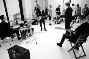 Soundcheck - Bryan daams und Band. Foto: ARGO-Veranstalte