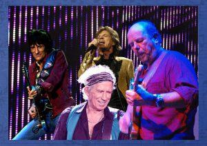 Chuck and Stones. Collage: Ulli Henn/FilArt