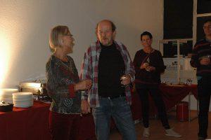 Elke, chuck und Gast Siggi. Foto: Hertlein