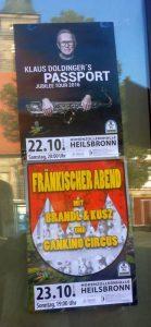 Jazz-Ikone Klaus Doldinger samt Passport spielenam 22. Oktober 2016 in der Hohenzollernhallein Heilsbronn. Foto Hertlein