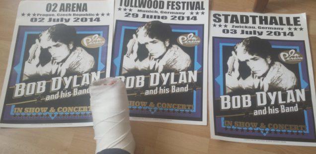 "Matthew's Rock'n'Roll:""Oh du fröhliche...""-Bob Dylan rockt Nürnberg/22.4.'18"