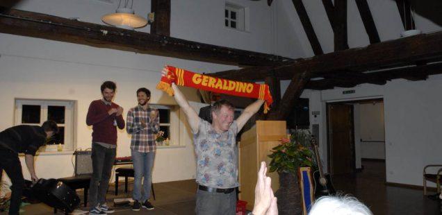 Franken-Szene: Geraldino - Endlich wieder Live-Auftritt/6:0 in Wiesbaden - Club hat wieder etwas Luft im Abstiegskampf, heute ist der VfB Stuttgart dran