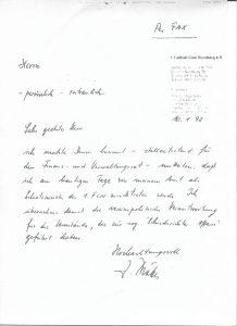 MADDERS-Exklusiv: Böbels persönliches rüpcktrittsschreibenam 10.1.1992...