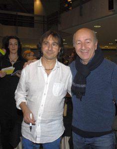 Ziemlich beste Freunde:Pippo und Enzo olmorisi.Fotos: Hertlein