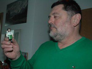 Clemens Heinl, 57, Bildhauer.....Foto Hertlein