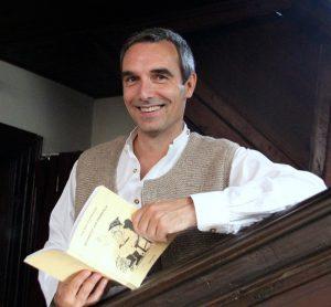 Liest am Sonntag, 8.1. im gottesdienst in Kammerstein : Preacher Sven Bach. Foto: UKB
