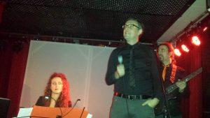 Ramspeck als moderator. Foto Hertlein