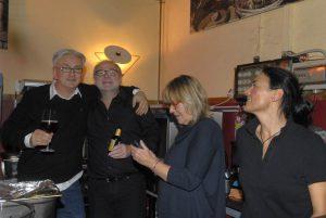 Thomas, Bobby, micha und Jutta (v.l.). Foto: Hertlein