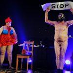 Franken-Szene: JangoE. nackt & Gianna fulminant  & Black Neal ehrt Gerd Huke