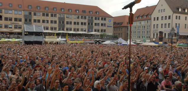 Franken-Szene: Blech,Bass,Begeisterung,Bardentreffen -Termin für 2018 steht
