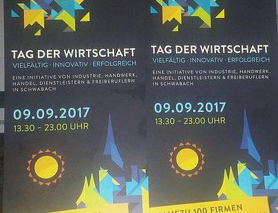 Schwabach-Boulevard: 8.Tafelkonzert & Roßbolln-Feier & Tag der Wirtschaft