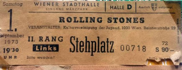 Matthew's Rock'n'Roll: Stones heute in Spielberg- Satisfaction für 90 000 Freaks