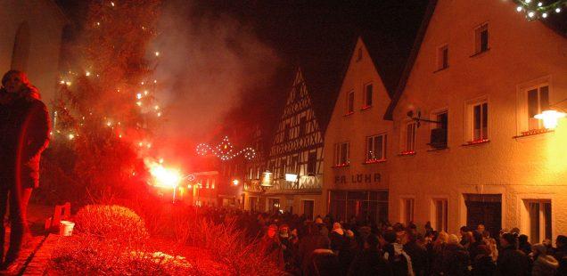 Franken-Szene: Pottenstein-Glanz &Huke-Gedächtnis-Konzert &Muddy What? im K4