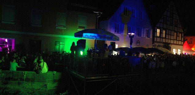Schwabach-Boulevard/Bürgerfest - Freitagnacht: Heißer Start zum Auftakt