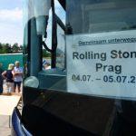 Matthew's Rock'n'Roll: Mick Jaggers Landpartie in Hohenlohe-Stones am 4.7. in Prag