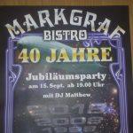 Schwabach-Boulevard: Bistro MARKGRAF 40 - Heiner, Kilimandscharo-Gipfelstürmer