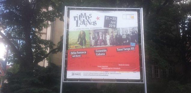 Schwabach-Boulevard: Annegret traf Bayern-Startrainer/Gospelnight/Nachlese Wirtefest -Tafelkonzert/7.Ritmos Latinos-Festival