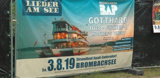 Franken-Szene: Alles Banane? Ortung 11. beginnt/Lieder am See mit BAP/Taubertal sold out/Pyras-Rock-Rückblende/Bike&Music-Geiselwind