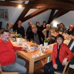 Schwabach-Boulevard: OB-Wahlplakate - Christine Krieg hängt wieder /Freller lud Kulturschaffende zum 126.Dachbodengespräch ein...