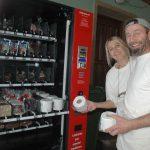 Schwabach-Boulevard: Kleine Schleckerei - wg.Hamsterkäufen, Lebkuchenautomat spuckt Toilettenpapier aus/ Corona-Stress für alle....
