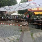 Schwabach-Boulevard: OB Reiß würdigte Verdienste von SPD-Ikone Vogel/ UKB feiert Geburtstag/Absperrung am Marktplatz - anmaßend....