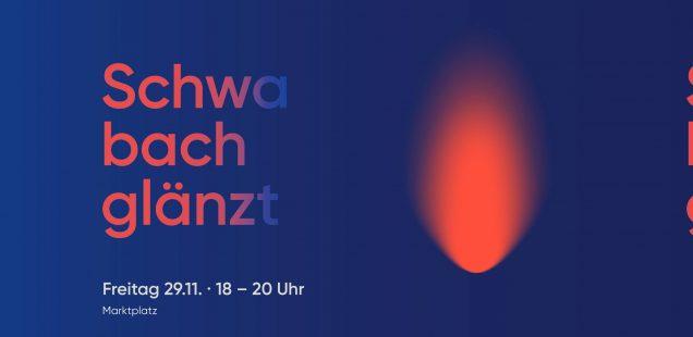 """Schwabach-Boulevard:Musikerfest 2021/Glaskünstler Leo../Digital-Show im Markgrafensaal/Weihnachtsbaum-Geschenk von Bildhauer Heinl/Schwabach glänzt""""..../Ulli Henn - 1700 Euro für Feuer-Kinder"""