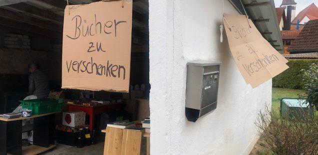 Schwabach-Boulevard/Spezial: DJ Basti versucht am 14.April 2021 neues Eheglück via SAT1-TV/Dietersdorfer Garagen-Basar - wie einst Bill Gates....Eckersmühlener IT-Firma quasi als Vorreiter..